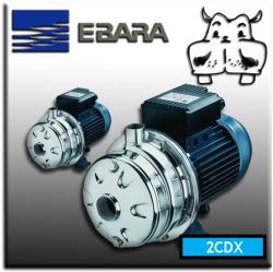 Elettropompe Bigiranti inox Ebara monofase trifase 2CDXM 70, 2CDXM 120, 2CDX 120