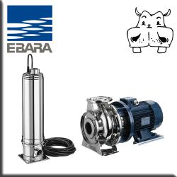 elettropompe multistadio verticali silenziose Ebara Multigo40T 80 80T elettropompe Ebara bigiranti inox