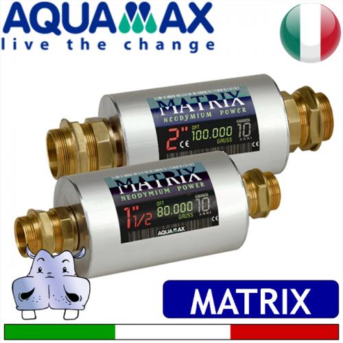 Aquamax anticalcare magnetici matrix sciogli calcare for Atlas filtri anticalcare