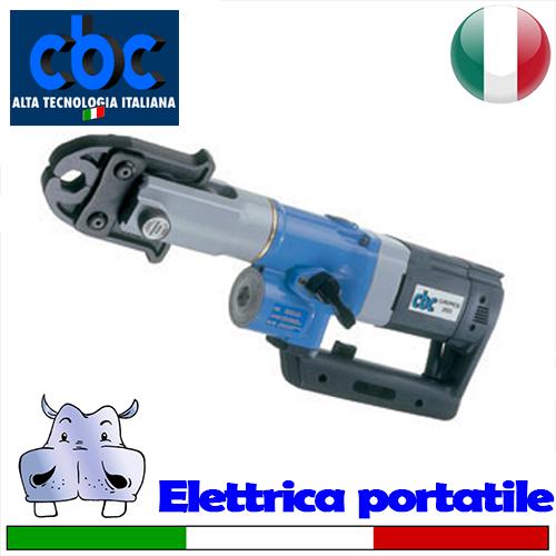 Cbc pressatrice elettrica portatile europress 2001 for Pressatrice usata