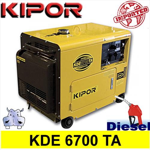 Generatore gruppo elettrogeno diesel 4 5kw 4500w kde for Gruppo elettrogeno diesel 10 kw