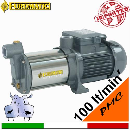 Pompa Multigirante silenziosa acciaio PMC 4 HP 1 Euromatic gruppo Speroni