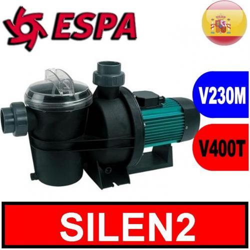 Espa elettropompa per piscine silen2 elettropompe e for Piscine in offerta