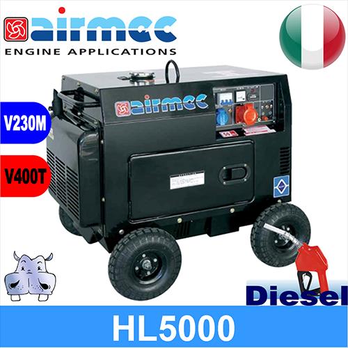 Schema Elettrico Gruppo Elettrogeno Trifase : Generatore gruppo elettrogeno a diesel hl se kw
