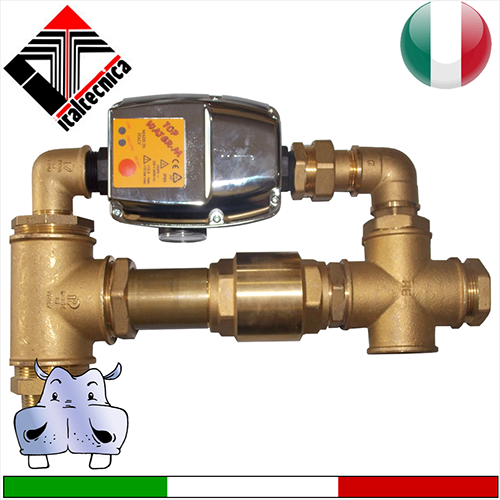 Italtecnica regolatore di pressione presscontrol topwater - Portata pressione ...