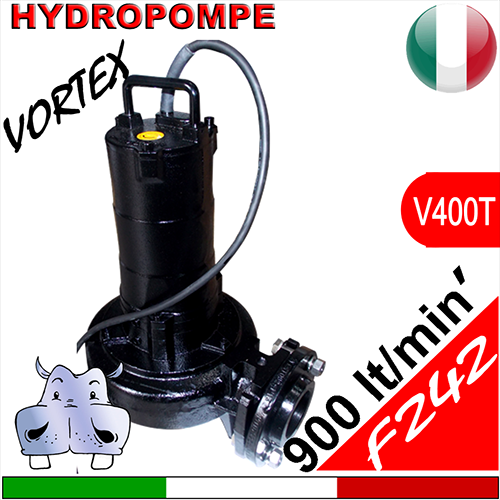 Schema Quadro Elettrico Per Pompa Sommersa Trifase : Hydropompe f242 pompa sommersa trifase con girante vortex per