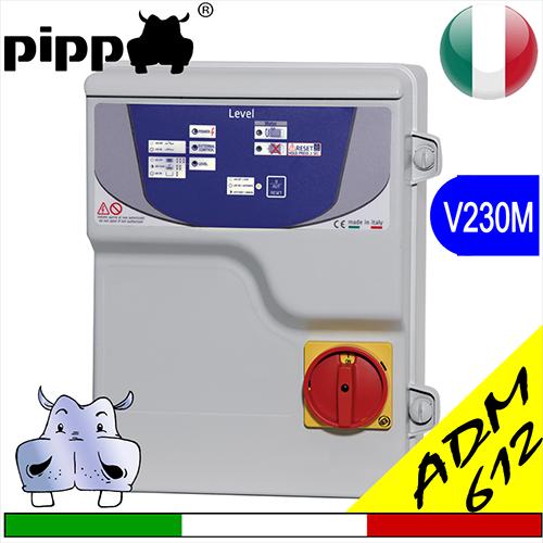 Schema Elettrico Per Pompa Sommersa : Quadro avviatore per elettropompa level v m sa