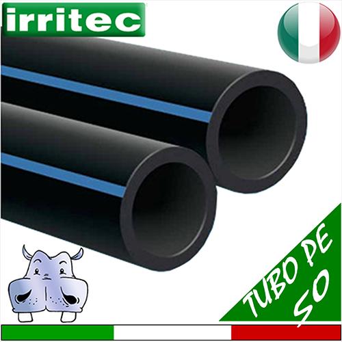 Tubazione flessibile in polietilene pe alta densit for Tubi per acqua in plastica e rame