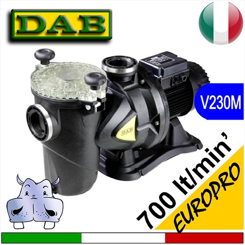 Dab elettropompa pompa per piscina europro 230vac monofase for Pompa per piscina
