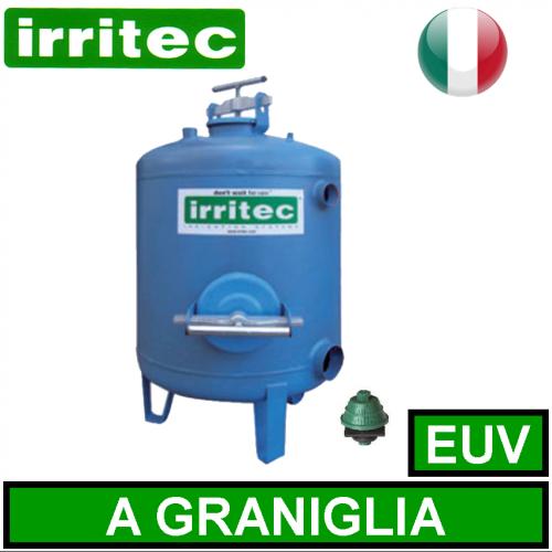 Filtro a graniglia euv irritec filtri in acciaio for Idrociclone per sabbia usato