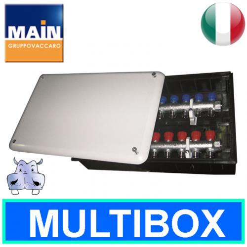 Cassetta main per collettori sistema multistrato - Cassetta per collettori idraulici ...