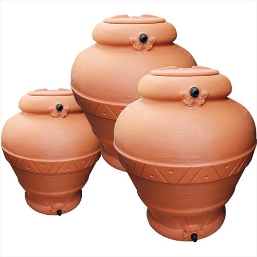 Serbatoi ornamentali in polietilene a forma di giara per for Serbatoio di acqua calda in plastica
