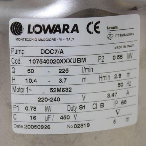 Schemi Quadri Elettrici Lowara : Lowara modulo sonde sld v elettrodi ironshop