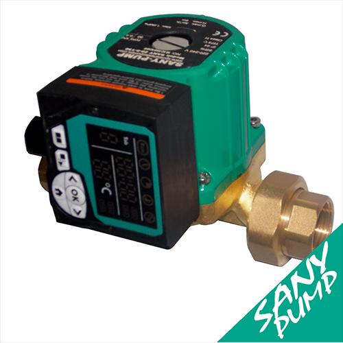 Circolatore programmabile per impianti di acqua calda for Connessioni idrauliche di acqua calda sanitaria
