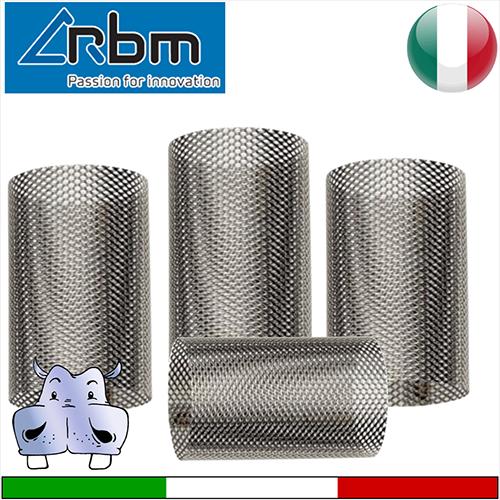 Cartuccia filtro a rete di linea in acciaio rbm for Materiale del tubo della linea d acqua