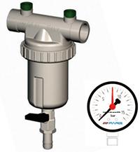 Filtro autopulente per acqua serie 600 senza manometri Filtrazione delle acque - filtri ...