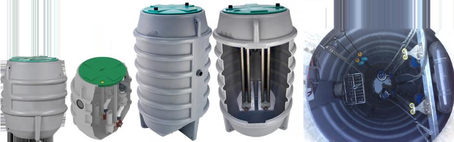 Schema Elettrico Alternanza Pompe : Impianto di sollevamento per fognature maxibox plus pompe
