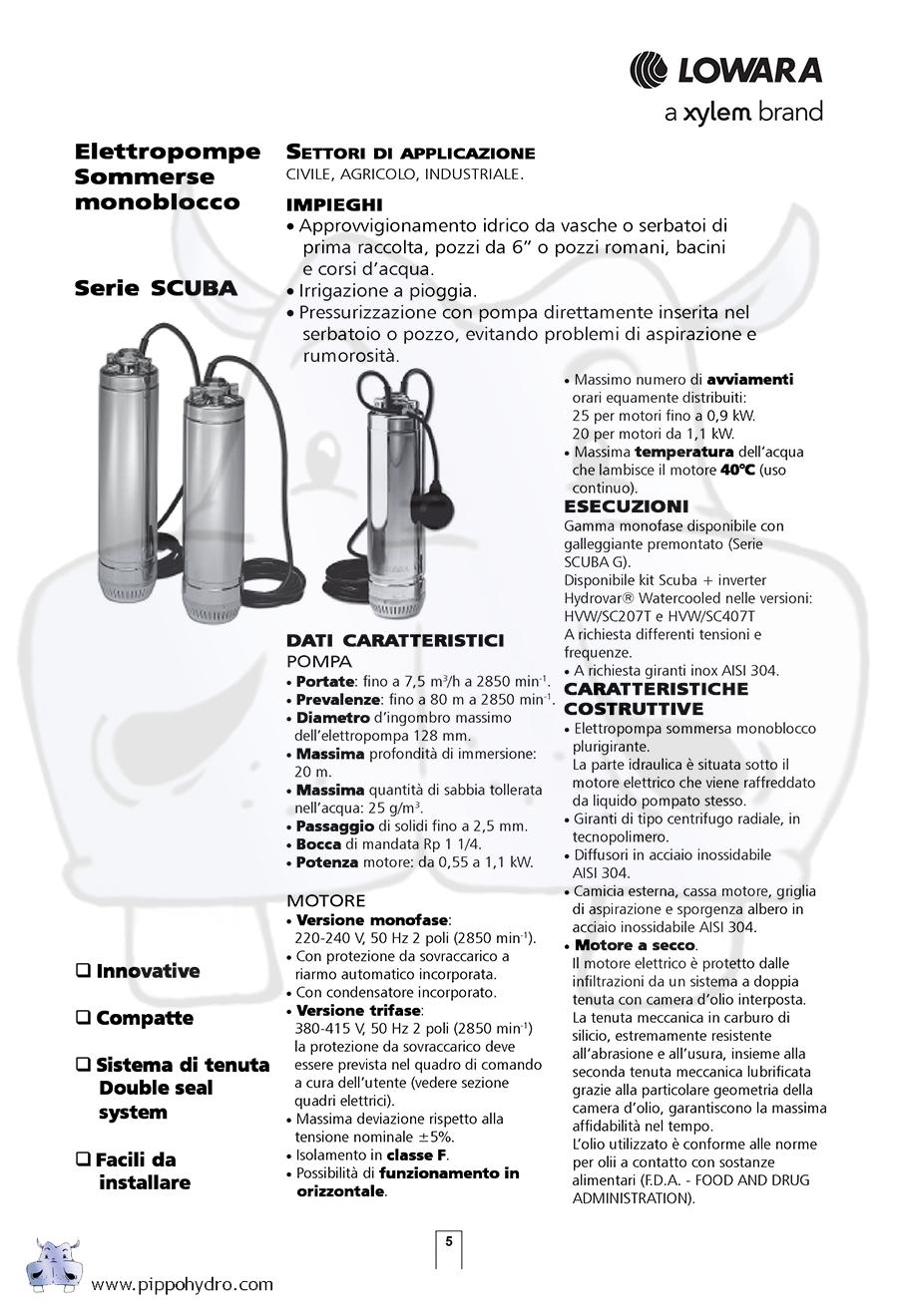 Schema Collegamento Galleggiante Pompa Sommersa : Schema collegamento pompa sommersa lowara