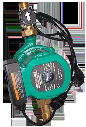 Elettropompa elettronica automatica per casa mini pump 120 for Calcolatore del prezzo della costruzione domestica