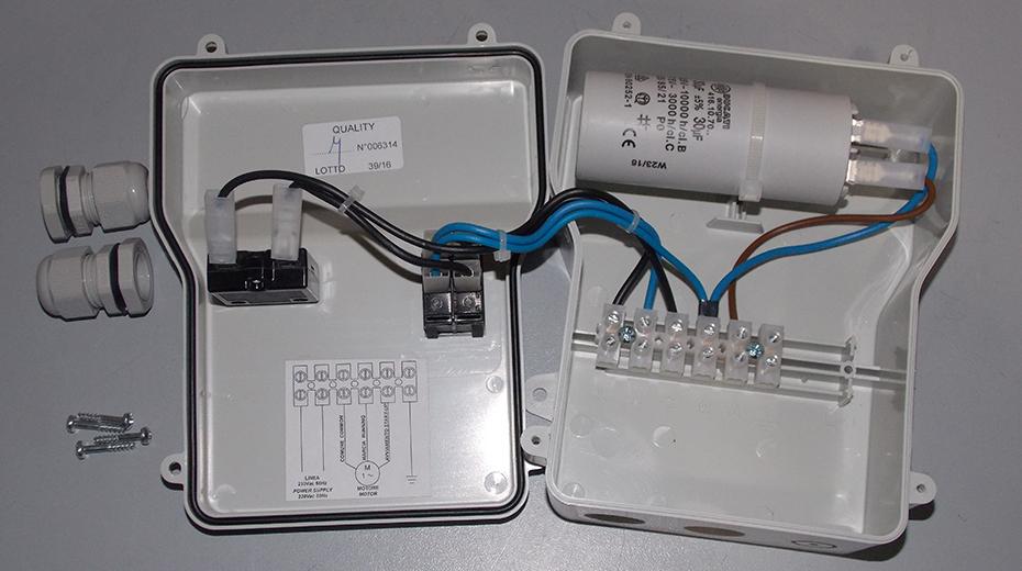 Schema Quadro Elettrico Per Pompa Sommersa Trifase : Quadro avviatore per elettropompa direct motor v m